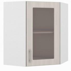 Шкаф навесной угловой витрина 600 Катрин