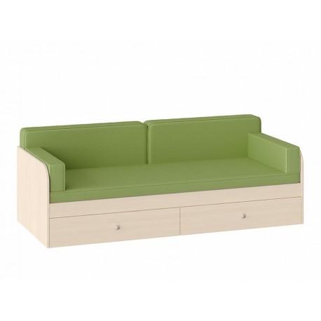 Подушки с покрывалом Салатовый для кровати Астра одноярусной