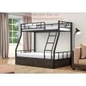 кровать двухъярусная Раута с ящиками