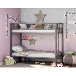 кровать двухъярусная Севилья цвет серый