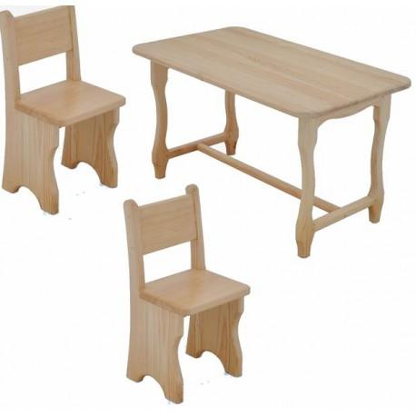 детский стол и два детских стульчика №1, комплект