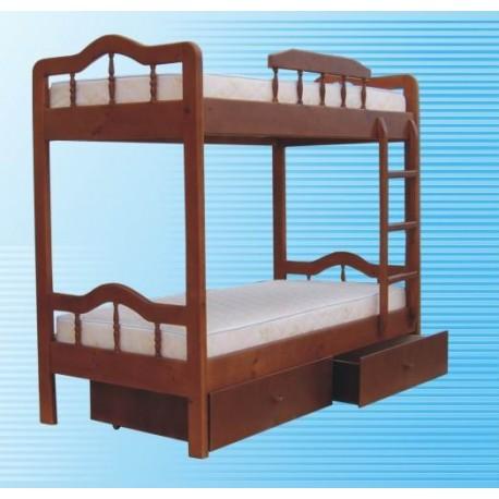 кровать двухъярусная Мальвина
